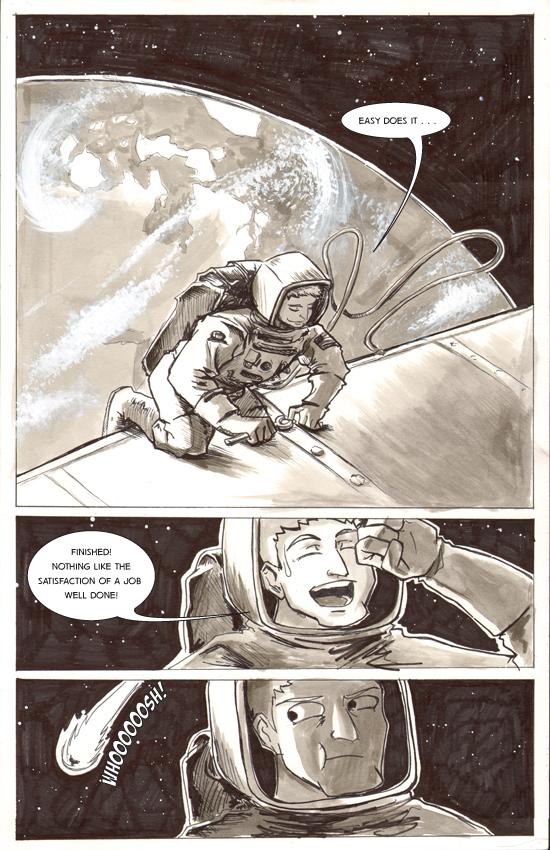 Chapter 1, Itsy Bitsy Teenie Weenie Intergalactic Bikini – Page 01