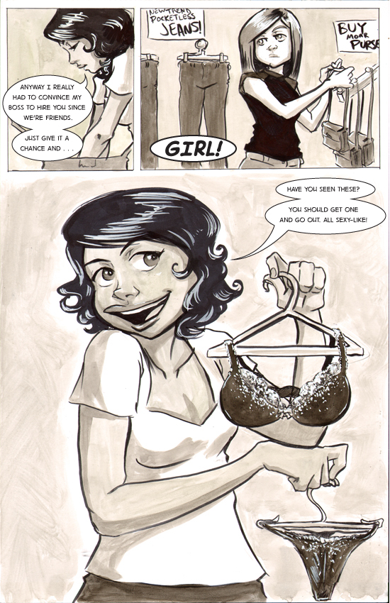Chapter 1, Itsy Bitsy Teenie Weenie Intergalactic Bikini – Page 10