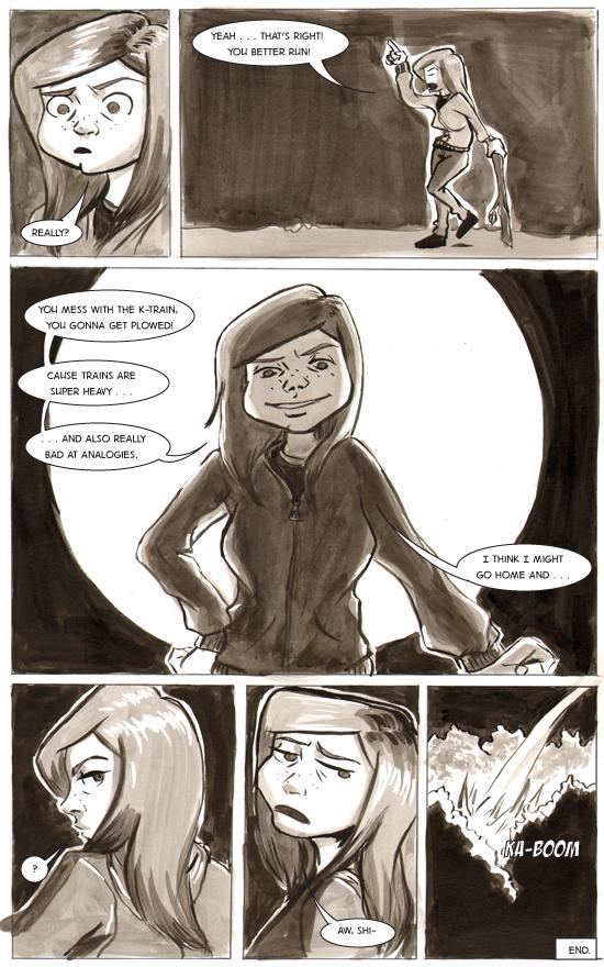 Chapter 1, Itsy Bitsy Teenie Weenie Intergalactic Bikini – Page 33