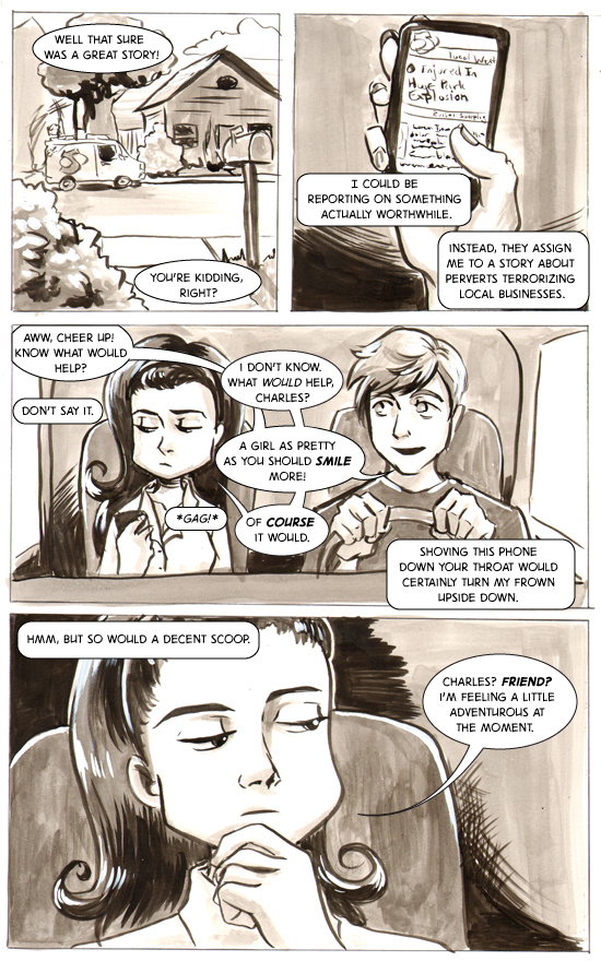 Chapter 02, Panty Raiders on Channel 5 – Page 19