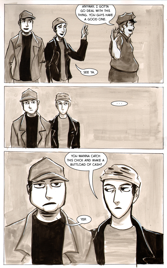 Chapter 02, Panty Raiders on Channel 5 – Page 22